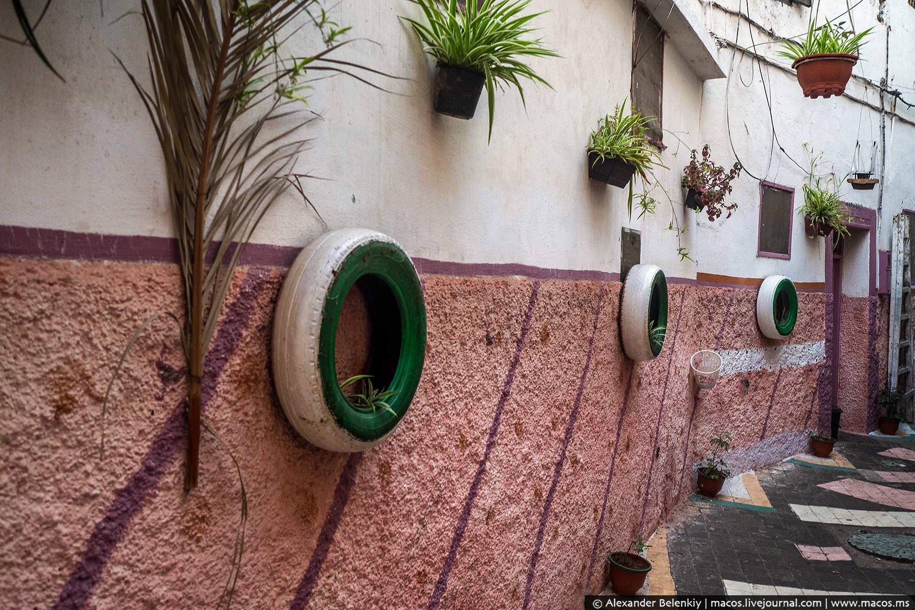 Фото: ЖКХ-арт по маррокански