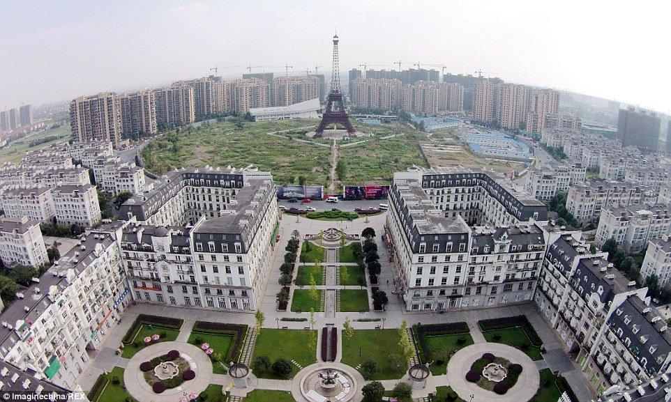 Фото: Копия Парижа в Китае