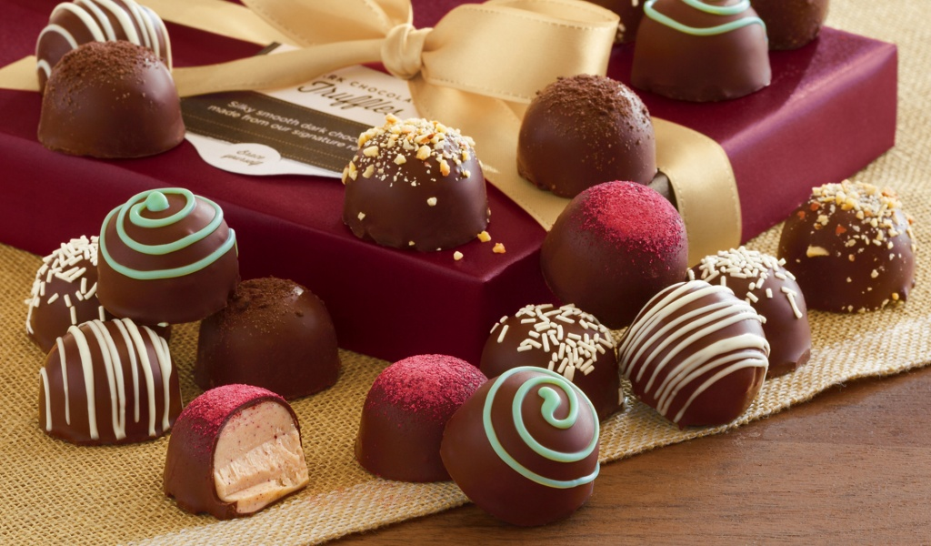 Фото: Шоколадные конфеты