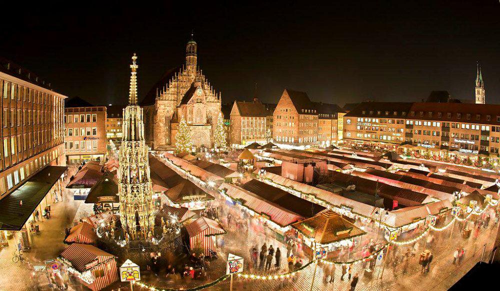 Фото: Рождество в Нюрнберге