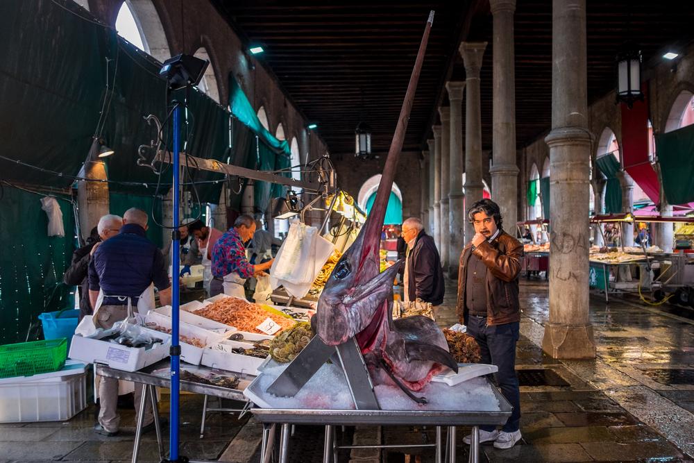 Фото: Рыбный рынок Риальто