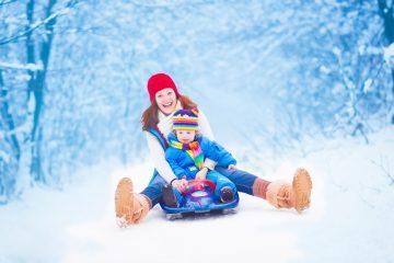 Фото: Популярные зимние развлечения