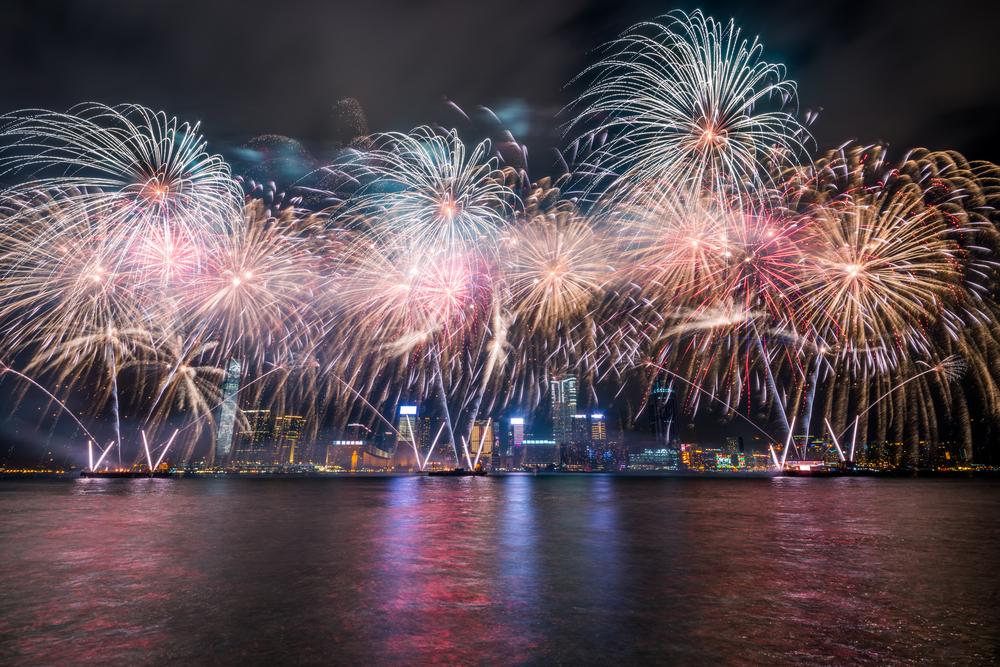 Фото: Празднование в Гонконге