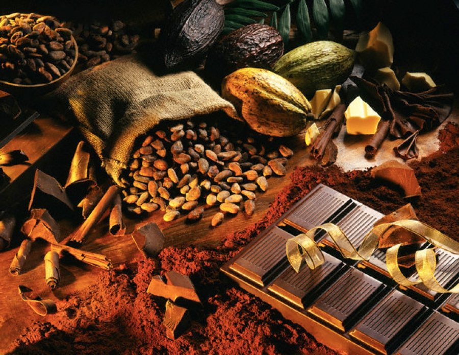 Фото: Какао-бобы