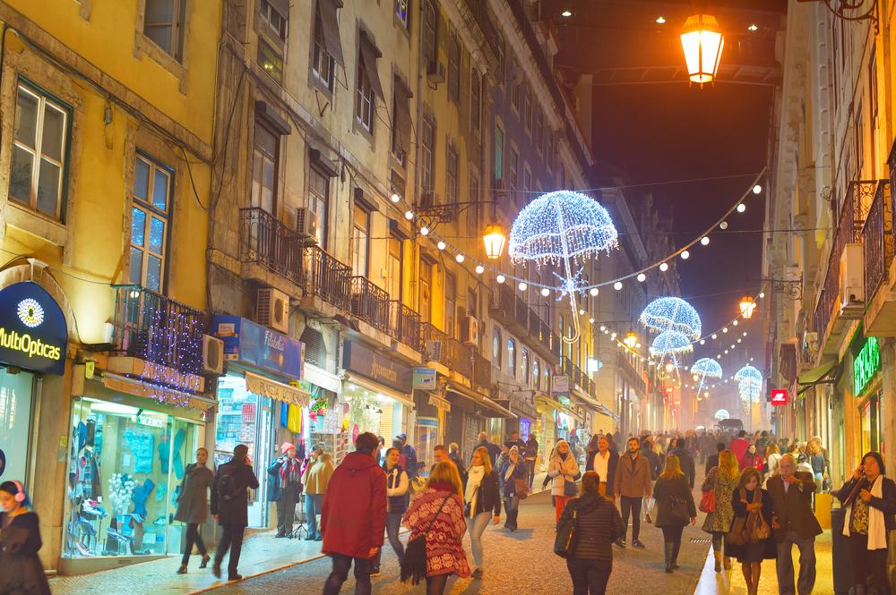 Фото: Зимние скидки в Лиссабоне