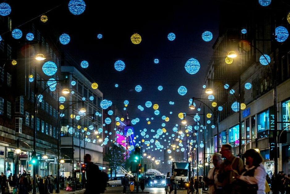 Фото: Зимние распродажи в Лондоне