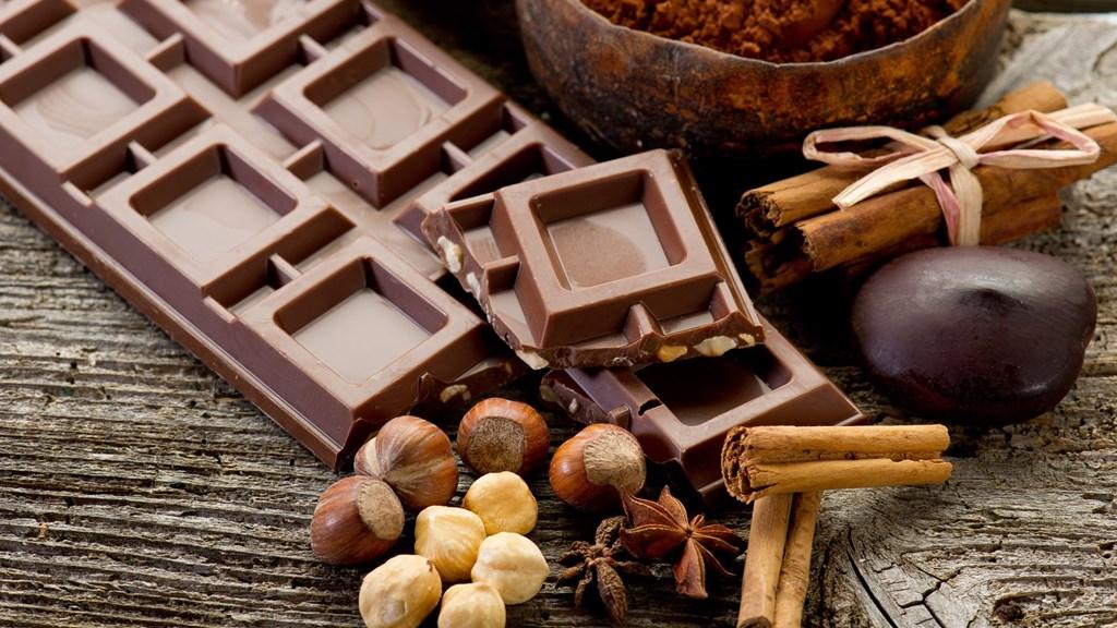 Фото: Корица, орехи и шоколад