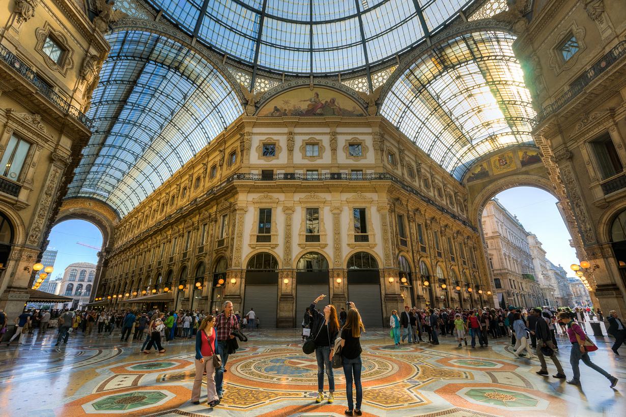 Фото: Зимние распродажи в Милане