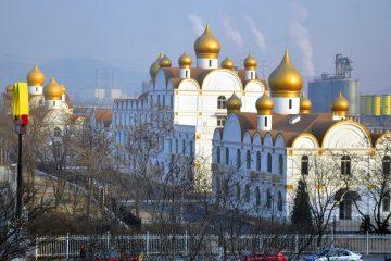 Фото: Москва в Китае