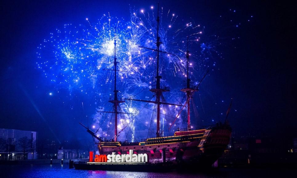 Фото: Новый год в Амстердаме
