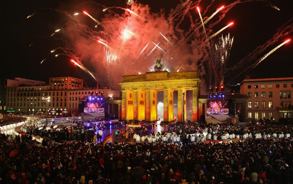 Фото: Новый год в Берлине