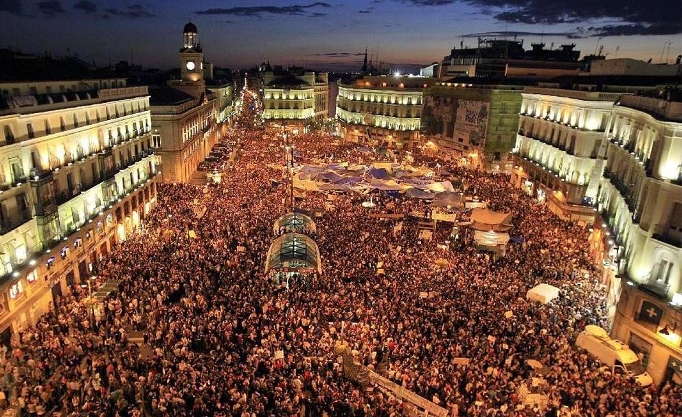 Фото: Новый год в Мадриде