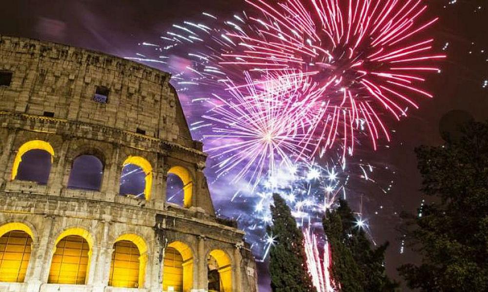 Фото: Новый год в Риме