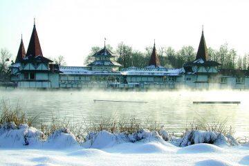 Фото: Термальный курорт зимой