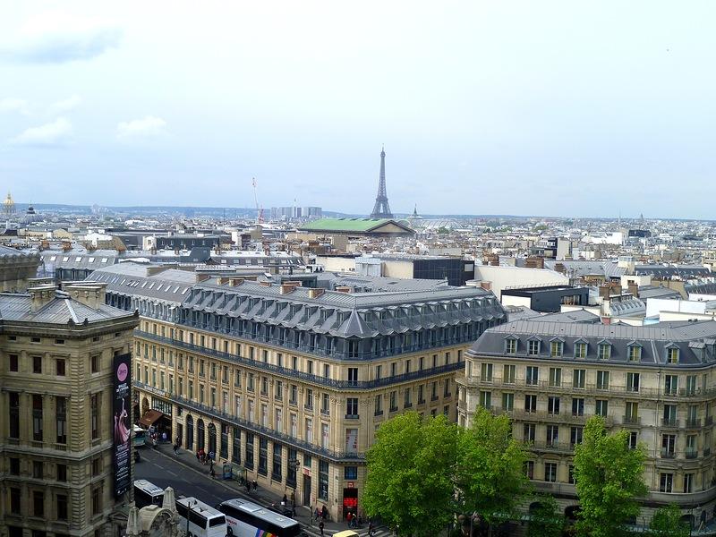 Фото: Вид на город с Галерии Лафайет