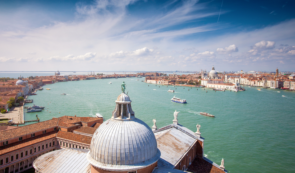 Фото: Вид с колокольни Сан-Джорджо Маджоре