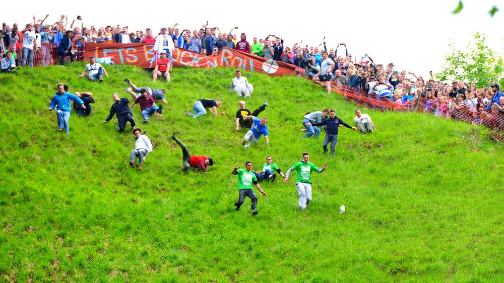 Фото: Куперсхилдская сырная гонка