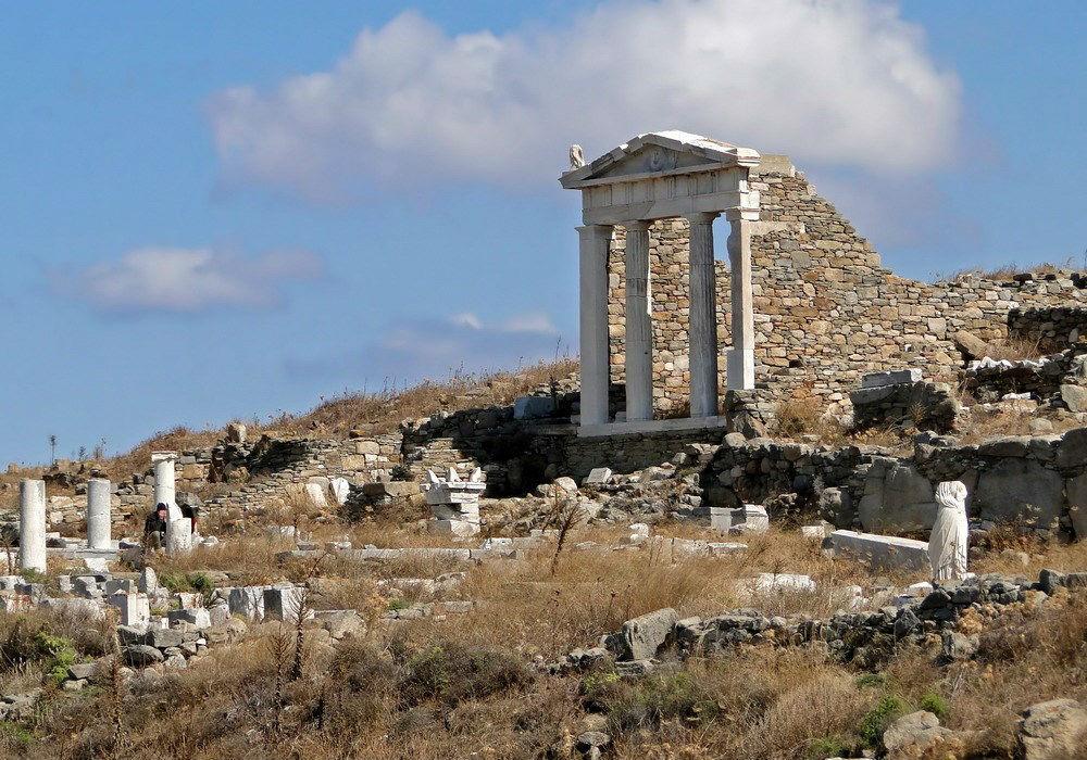 Фото: Остров Делос