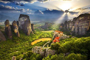 Фото: Метеоры, Греция