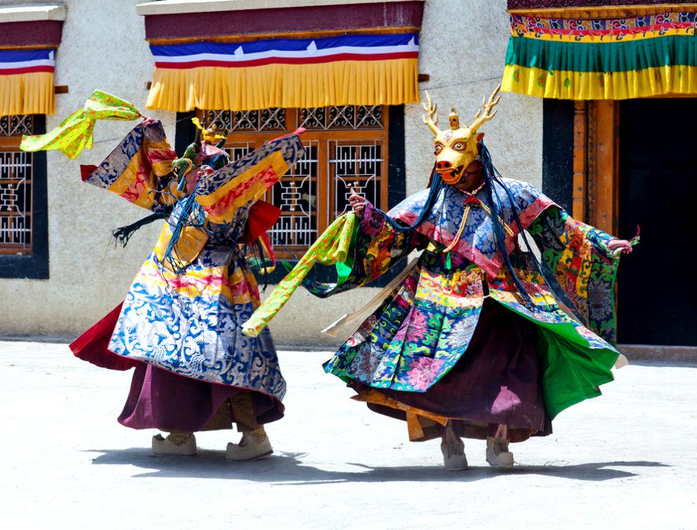 Фото: Тибетский Новый Год
