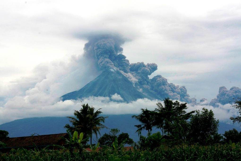 Фото: Вулкан Мерапи
