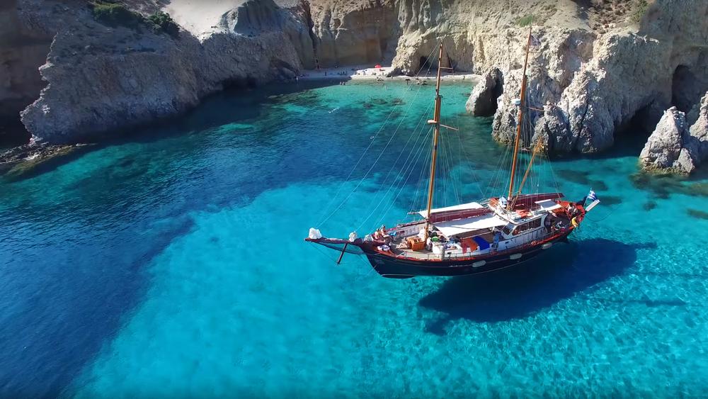 Фото: Пляж на острове Милос