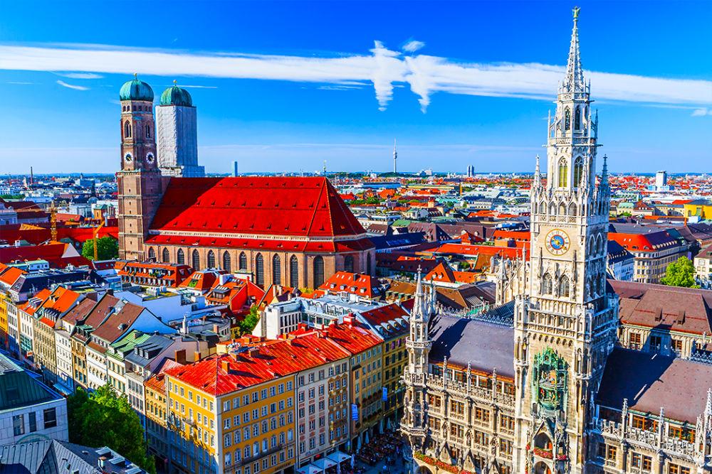 Фото: Панорама Мюнхена