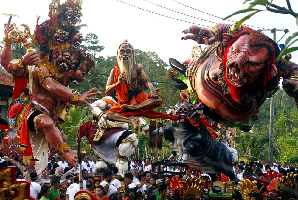 Фото: Балийский Новый Год
