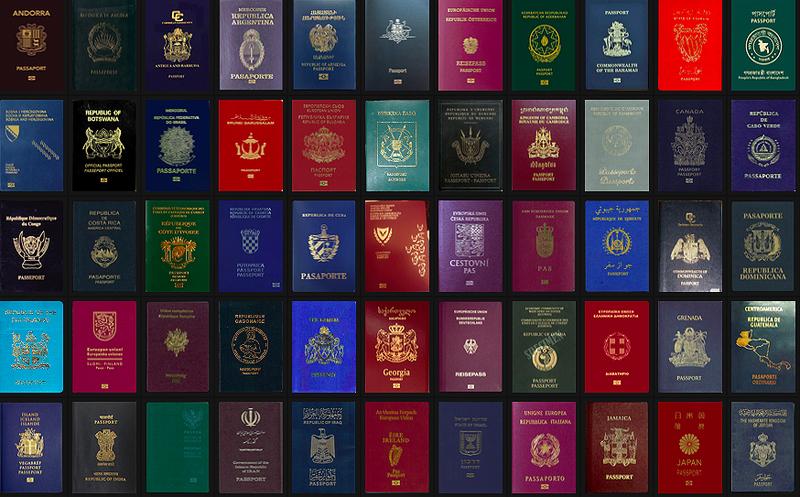 Фото: Рейтинг паспортов