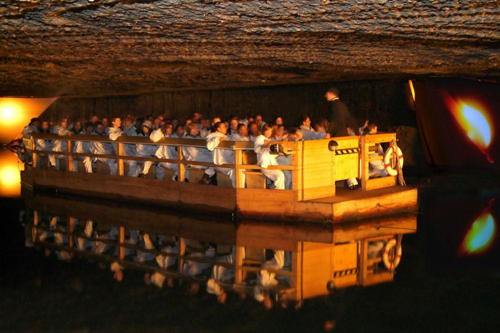 Фото: Соляная шахта
