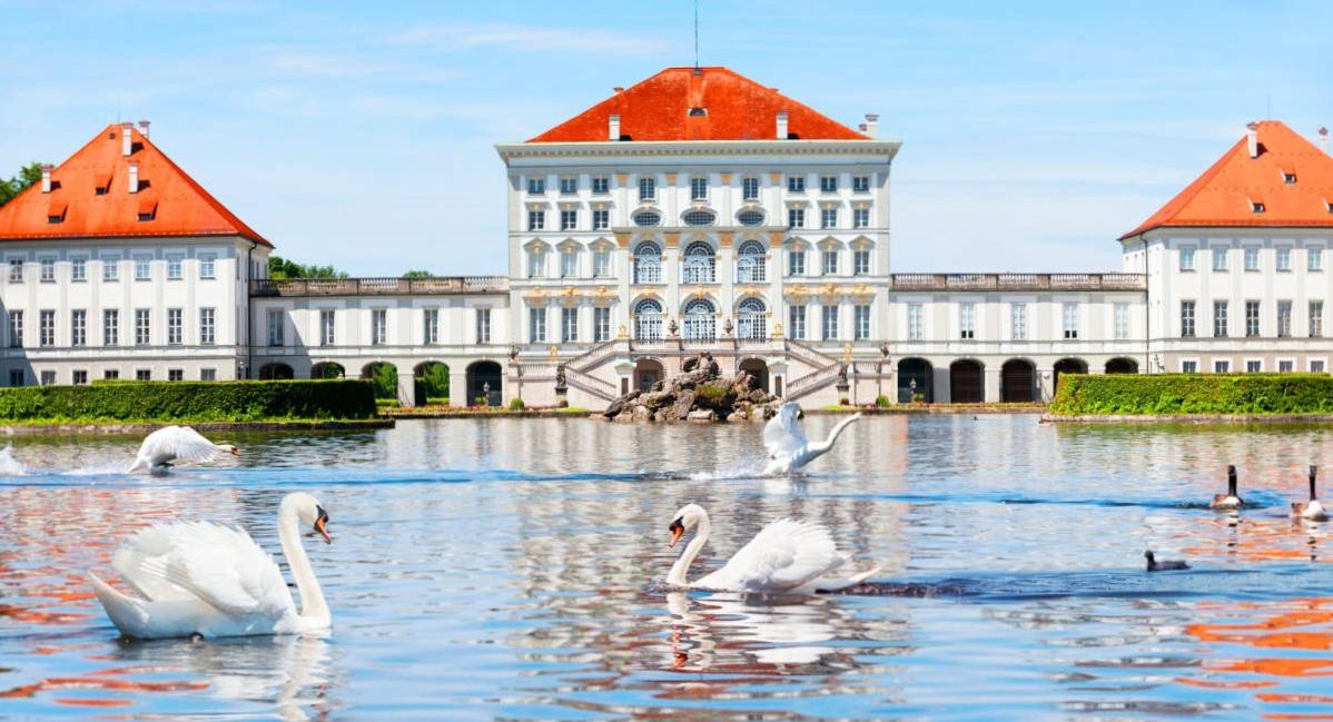 Фото: Дворец Нимфенбург