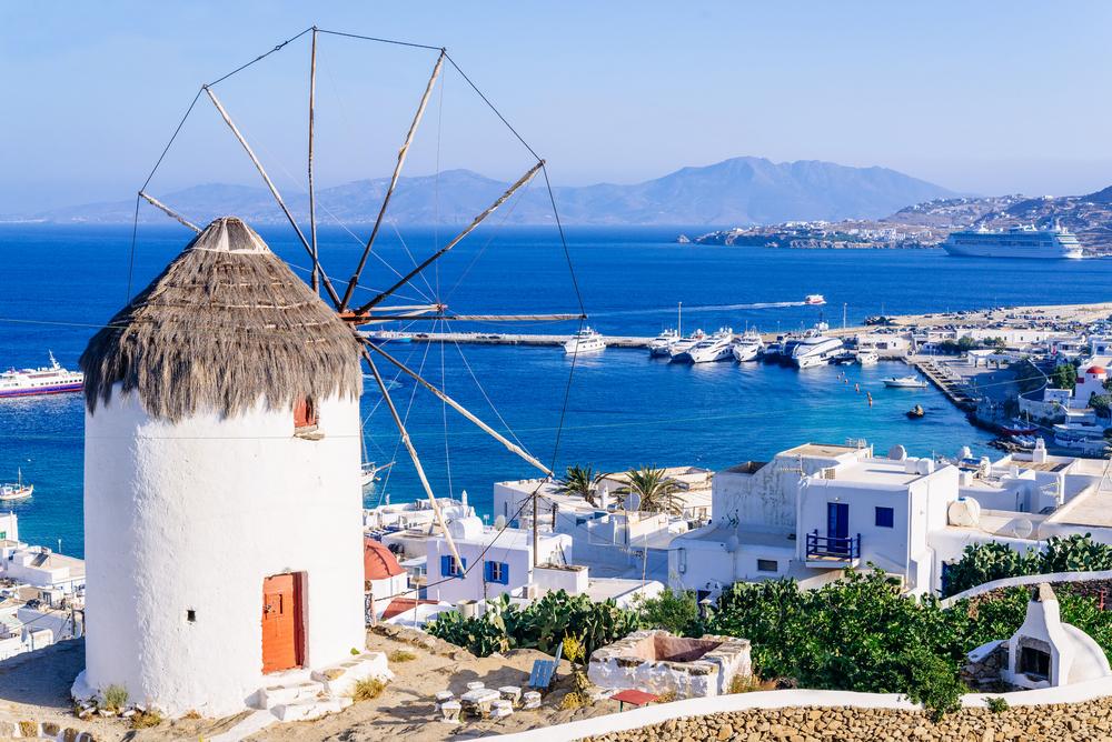 Фото: Остров Микинос