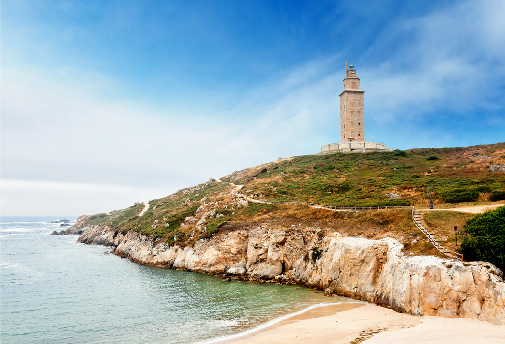 Фото: Башня Геркулеса