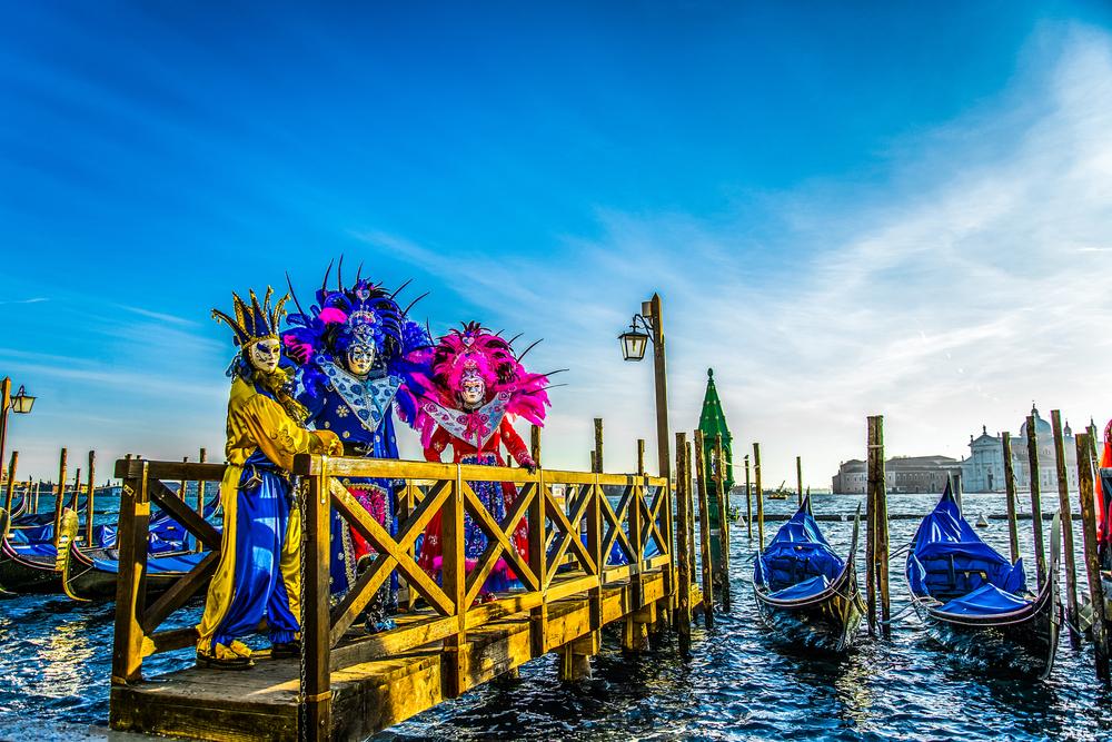 Фото: Карнавал в Венеции