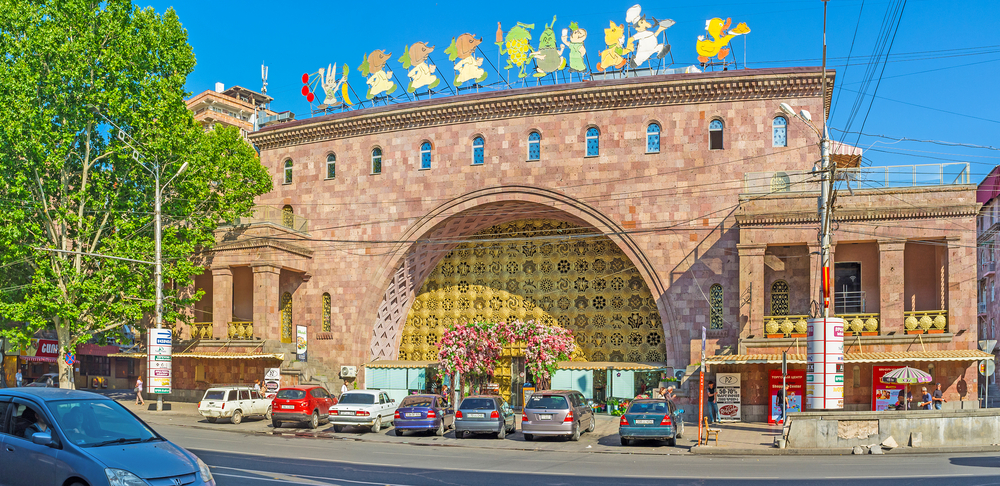 Фото: Фасад центрального рынка