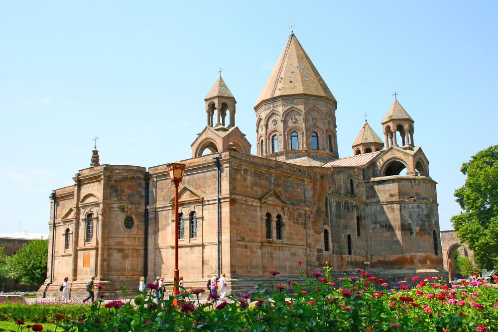 Фото: Храм-музей Эчмиадзин