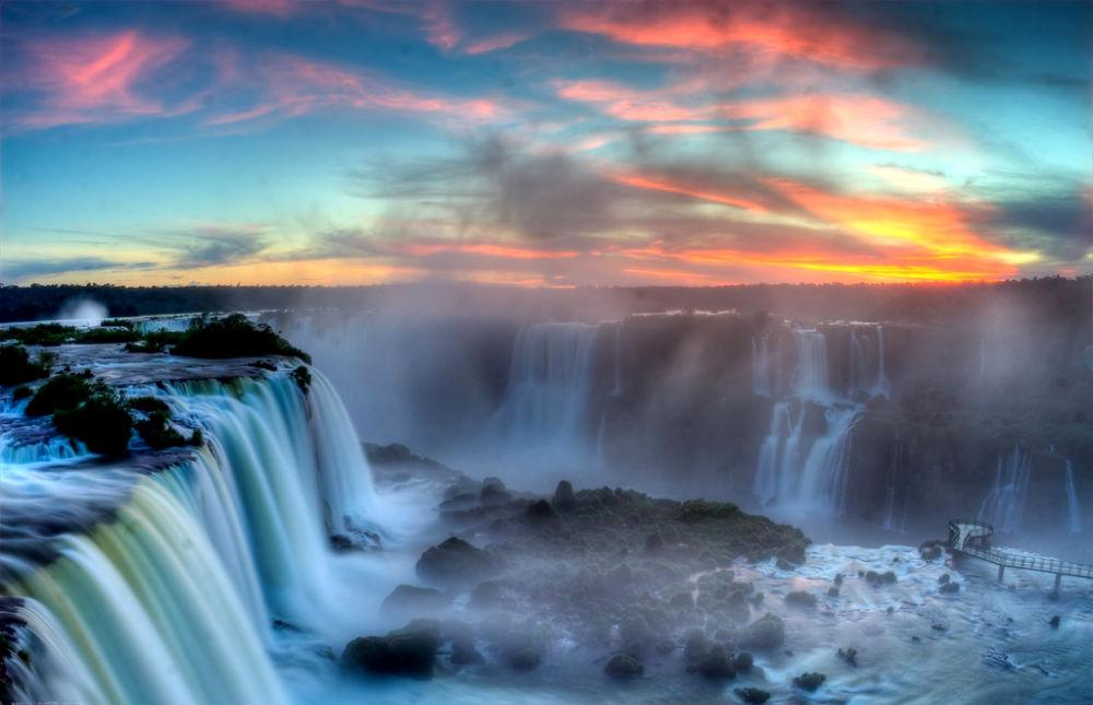 Фото: Водопады Игуасу