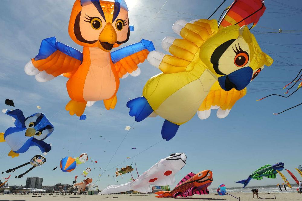 Фото: Международный фестиваль воздушных
