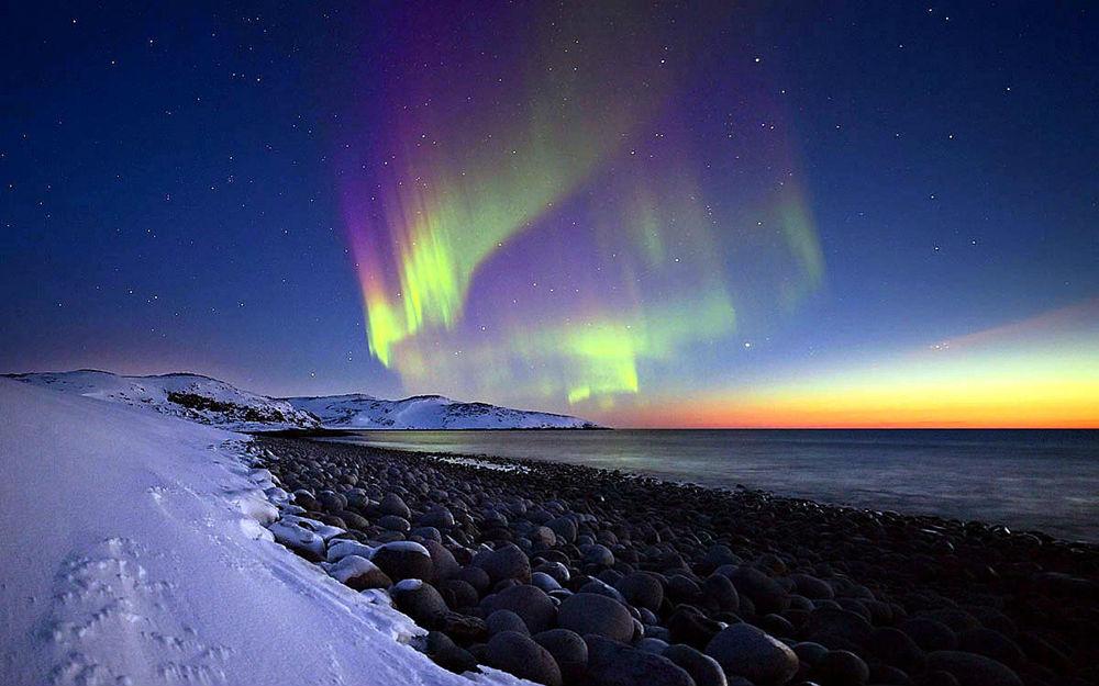 Фото: Северное сияние