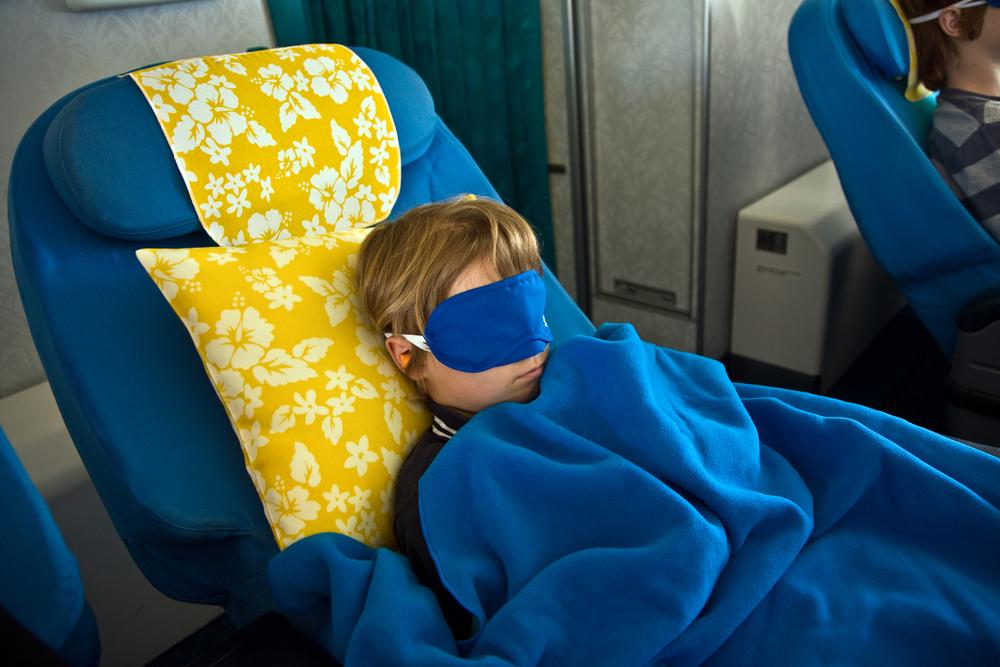 Фото: Спящий пассажир