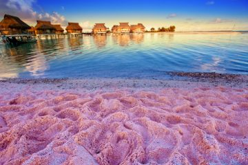 Фото: Розовый песок