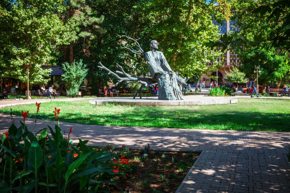Фото: Памятник композитору Комитасу