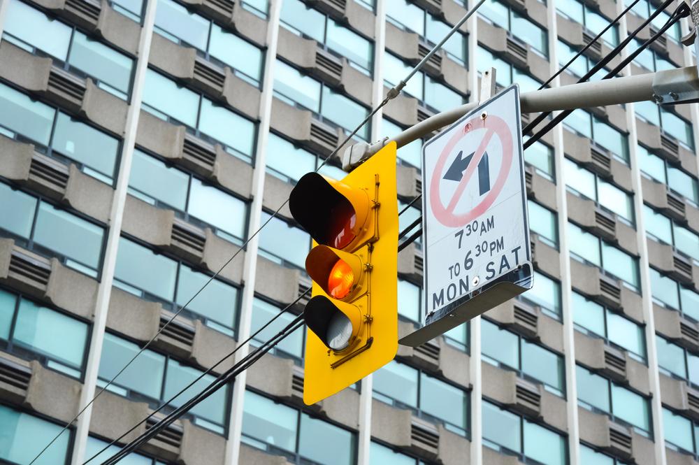 Фото: Светофор в Канаде