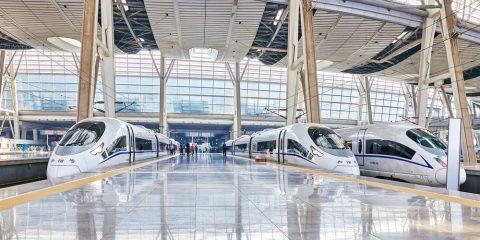 Фото: Поезда в Китае