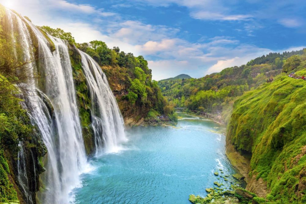 Фото: Водопад Хуангошу