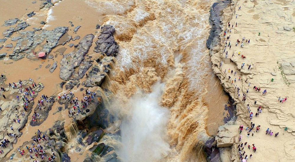 Фото: Водопад Хукоу