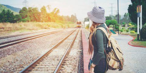 Фото: Железнодорожная платформа