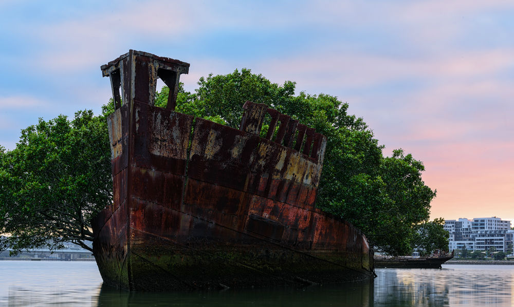 Фото: Последнее пристанище кораблей