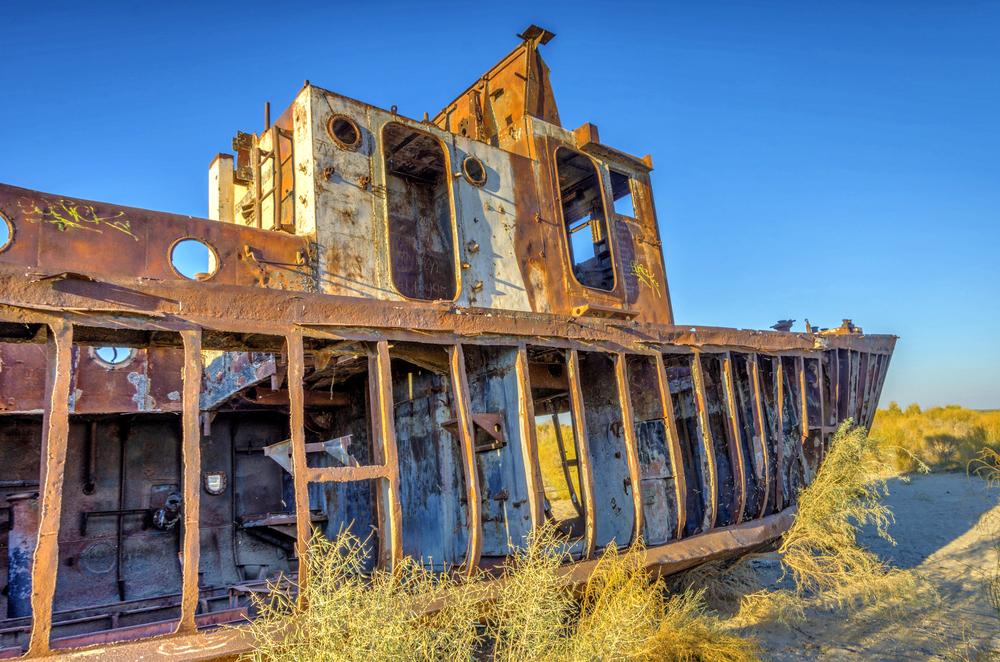 Фото: Старый корабль