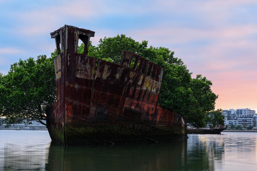 Фото: Куда попадают корабли после смерти